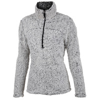 Free Country Women's Frosted Pile 1/4 Zip Pullover