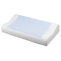 Eternal Cool Dreams Ergonomic Memory Foam Pillow with Cooling Gel